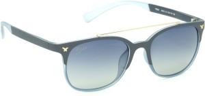 7c5cb3d8c1d6 Fizan 6055 C4 Blue Polarized Wayfarer Sunglasses Blue Best Price in ...