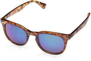 dc3d7c93a30 Gio Collection BH 2177 Cat 03 Wayferers Havana-Brown Mirror Wayfarer  Sunglasses