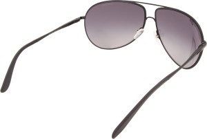 ceee80bfab365 Carrera NEW GIPSY 003 64HD Aviator Sunglasses Black Best Price in ...