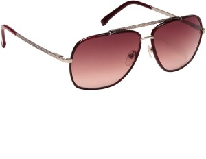 7d90e43b9a Lacoste L153S 038 Over sized Sunglasses Brown Best Price in India ...