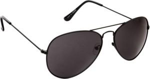 52550d3801f0 Just Colours 401 Aviator Sunglasses Black Best Price in India