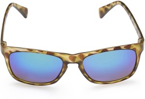 cbb7f7bba4b Gio Collection BJ 3105 CAT 03 OVERSIZED HAVANA   MIRROR Wayfarer Sunglasses Multicolor