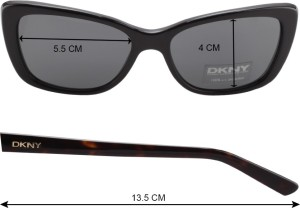 55694095b8 DKNY Sunglasses Black Best Price in India