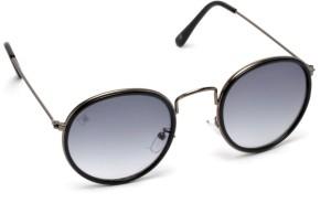 3999b107807c9 MTV MTV 140 C1 Round Sunglasses Grey Best Price in India