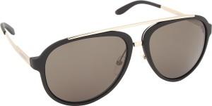 7bd02382c8 Carrera 96 S TJK 5870 Aviator Sunglasses Black Best Price in India ...