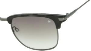 56002cbc0abe United Colors of Benetton UCB 550 I2 Wayfarer Sunglasses Grey Best ...
