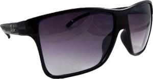 2b7e366ab55a Riy Don H932 Wrap-around Sunglasses ( Black )