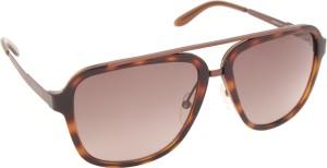 5da4c109c Carrera 97 S 98F 57HA Wayfarer Sunglasses Brown Best Price in India ...