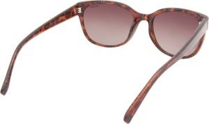 9915e32c0ec Polaroid pld 4030 s 55la q3v Rectangular Sunglasses Brown Best Price ...