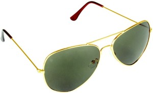 976ccdcc4a Opticzar JH0911 4 Aviator Sunglasses Green Best Price in India ...