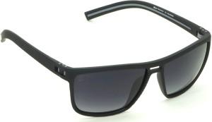 41492c71d782 Fizan 7607O-GB060 Rectangular Sunglasses ( Black )
