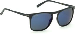 5f9df449d885 Fizan FZ 6004 C3 Blue Mirror Polarized Wayfarer Sunglasses Blue Best ...