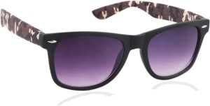 9568b3f254 Joe Black JB 032 C10 Wayfarer Sunglasses Violet Best Price in India ...