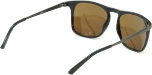 a507ce7d9404 Fizan FZ 6004 C5 Golden Mirror Polarized Wayfarer Sunglasses Golden ...