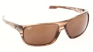 e6c0f3475d Maui Jim ISLAND TIME MJ237 15 Rectangular Sunglasses Brown Best ...