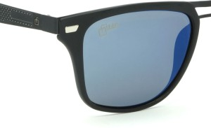 a8f9c6858651 Fizan FZ 1013 C3 Blue Mirror Polarized Wayfarer Sunglasses Blue Best ...