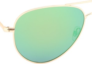 a310cc6907 Polaroid pld 6012 n 56k7 j5g Aviator Sunglasses Green Best Price in ...