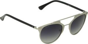 0ebc6aa0d8a6 Fizan FZ-1063-C3 Round Sunglasses ( Black )