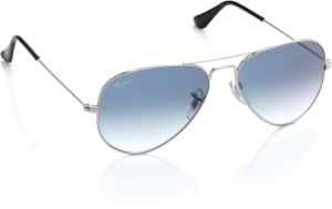 ea406d7975b Ray Ban 0RB3025 003 3F Aviator Sunglasses Blue Best Price in India ...