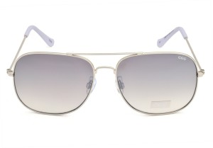 95983585087 IDEE S2069 C4 58 Aviator Sunglasses Grey Silver Best Price in India ...
