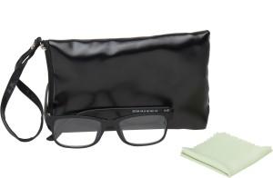 560ace4450 Vast Rxable Frame Plus 5 In 1 Magnetic Clip on Rectangular SunglassesGrey