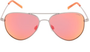 4b81a7aa44 Polaroid PLD 6012 N 56oz 6lb Aviator Sunglasses Red Best Price in ...