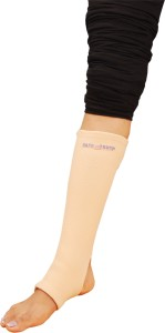 2050d00ee7 SafeAnBTouch Varicose Vein Stockings Below Knee Thigh Support (L, Beige)