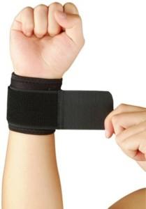 SIDHIVINAYAK ENTERPRISES MT-6598 Wrist Support (Free Size, Multicolor)