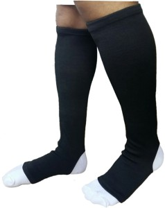 130a38f411 shoopers Premium Vein varicose stocking below Knee, Calf & Thigh Support  (S, Black