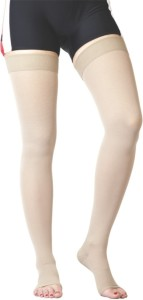 c86bcbde9f Flamingo Healthcare Medical Compression Stocking Above Knee Knee, Calf & Thigh  Support (XL,