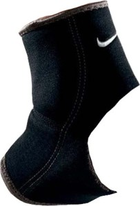 promo code ee308 074c4 Nike Ankle Sleeve Ankle Support (L Dark Charcoal Black)