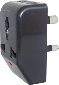 MX MULTI PLUG ADAPTOR with UNIVERSAL SOCKETS 3 Socket Surge Protector