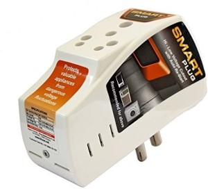Smart Plug High Low Voltage Cutout/ Protector Rated @ 16amp. 1 Socket Surge Protector
