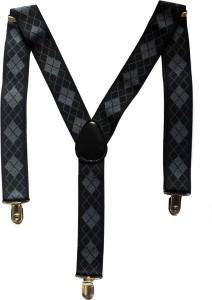 Urban Diseno Y- Back Suspenders for Men, Women
