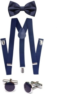 Civil Outfitters Y- Back Suspenders for Men, Women