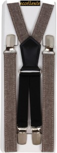 Eccellente Y- Back Suspenders for Men, Women