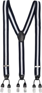 The Tie Hub Y- Back Suspenders for Men