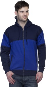 PerryJones Full Sleeve Solid Men's Sweatshirt