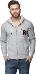 Scott International Full Sleeve Solid Men's Sweatshirt