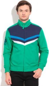 U.S. Polo Assn. Full Sleeve Striped Men's Sweatshirt