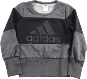 Adidas Full Sleeve Printed Girls Sweatshirt