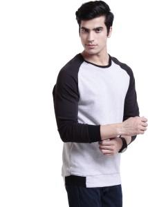 Ebry Full Sleeve Solid Men's Sweatshirt