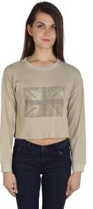 I Am For You Full Sleeve Solid Women's Sweatshirt