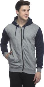 Fashion Gallery Full Sleeve Solid Men's Sweatshirt