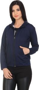 Smart Fashion Full Sleeve Solid Women's Sweatshirt
