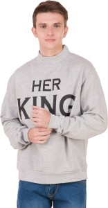 flying star Full Sleeve Solid Girls Sweatshirt