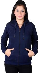 Ansh Fashion Wear Full Sleeve Solid Women's Sweatshirt