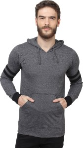 Sayitloud Full Sleeve Solid Men's Sweatshirt