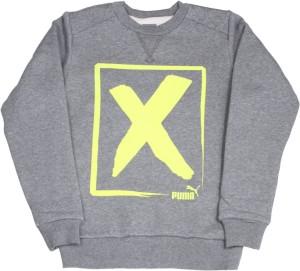 ae8a9174df38 Puma Full Sleeve Printed Boys Sweatshirt Best Price in India