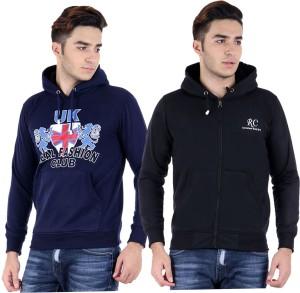 Hardys Full Sleeve Solid Men's Sweatshirt